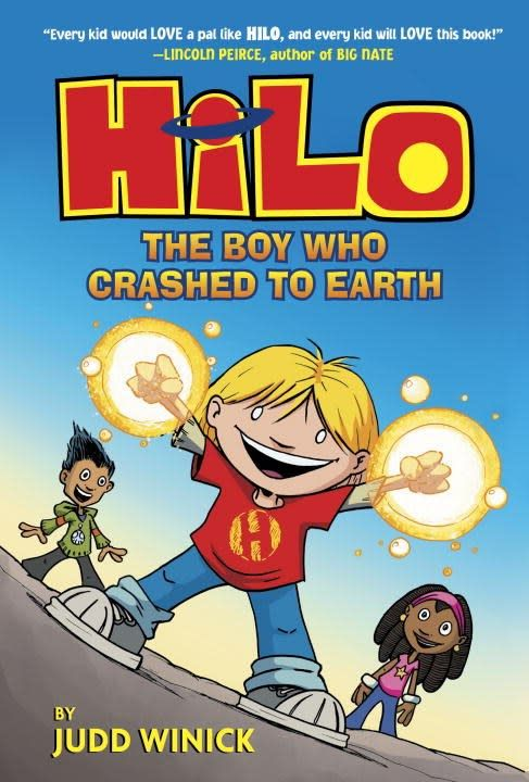 Random House Books for Young Readers Hilo 01 The Boy Who Crashed to Earth