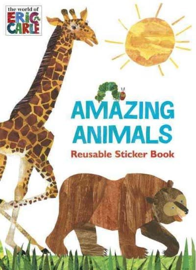 World of Eric Carle: Amazing Animals (Sticker Book)