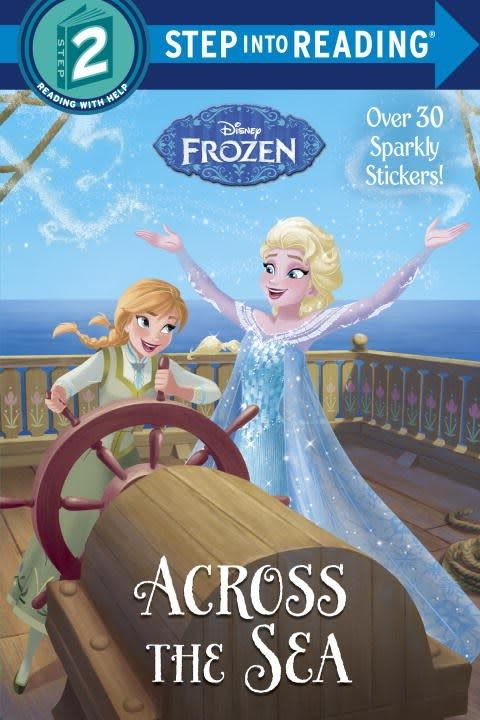 Disney Frozen: Across the Sea (Step-into-Reading, Lvl 2)