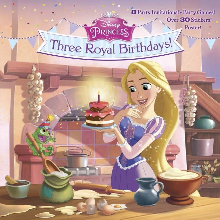 Random House Books for Young Readers Disney Princess: Three Royal Birthdays!