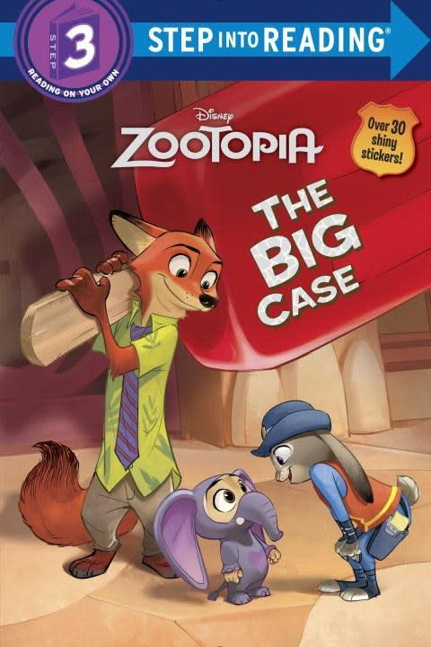Disney Zootopia: The Big Case (Step-into-Reading Lvl 3)