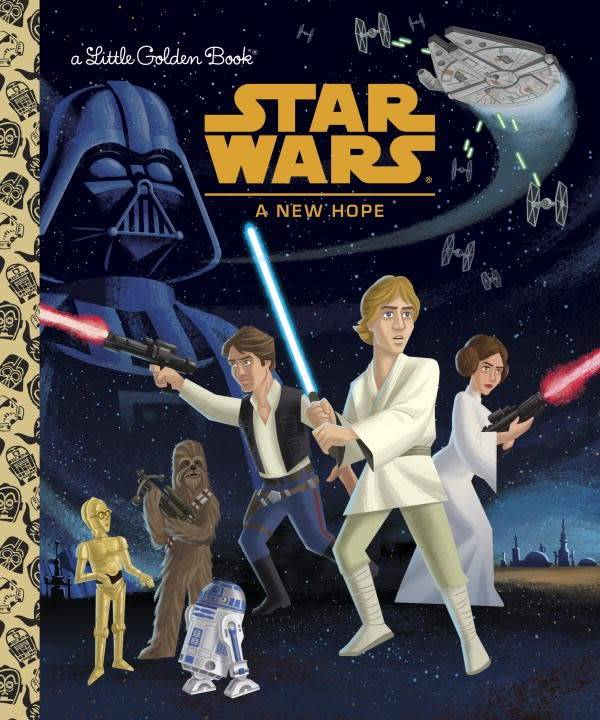 Star Wars Episode Iv A New Hope Linden Tree Books Los Altos Ca