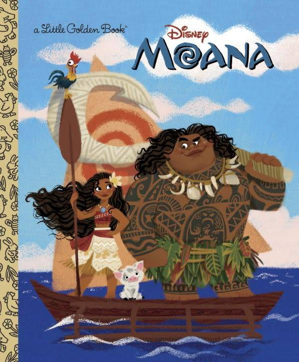 Golden Books Disney: Moana