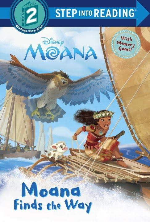 Random House Books for Young Readers Disney Moana: Finds the Way (Step-into-Reading, Lvl 2)
