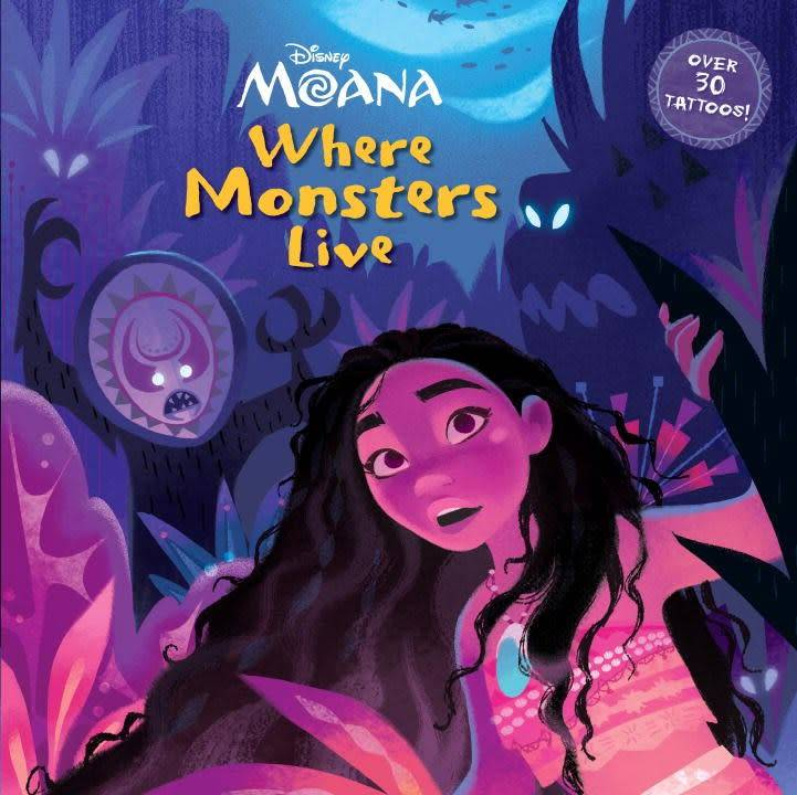 Disney Moana: Where Monsters Live (Deluxe Ed.)
