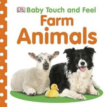 DK Baby Touch and Feel: Farm Animals
