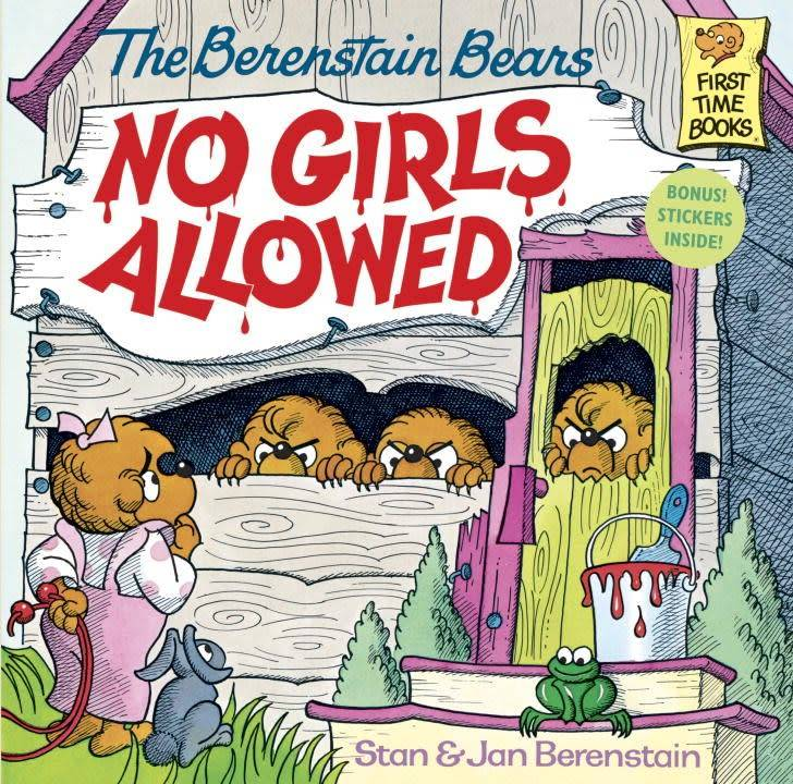 Random House Books for Young Readers Berenstain Bears: No Girls Allowed