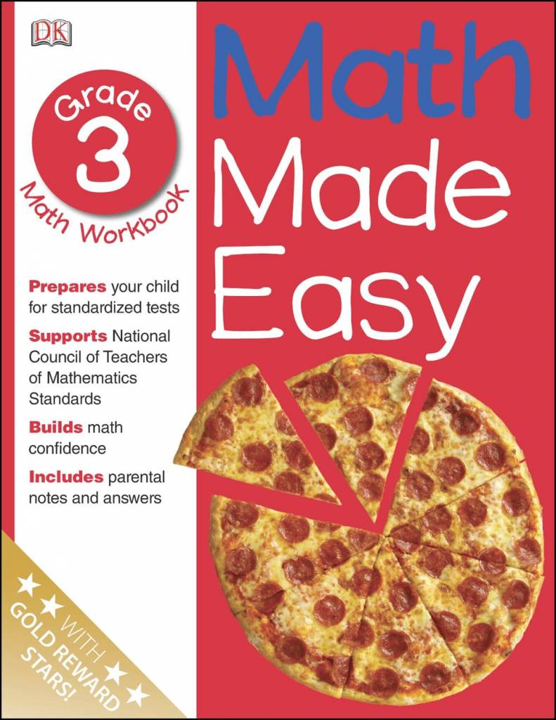 Math Made Easy: Grade 3: Math Workbook