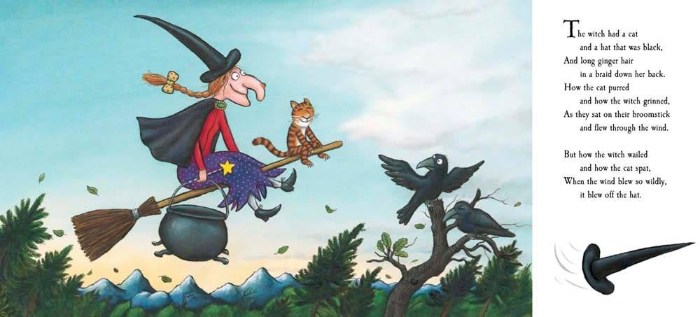 Dial Books Room on the Broom Board Book