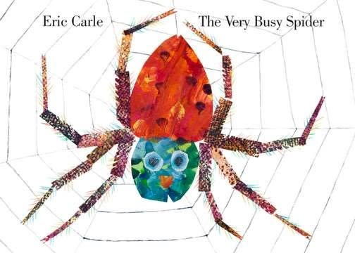 Philomel Books The Very Busy Spider (Small Board Book)