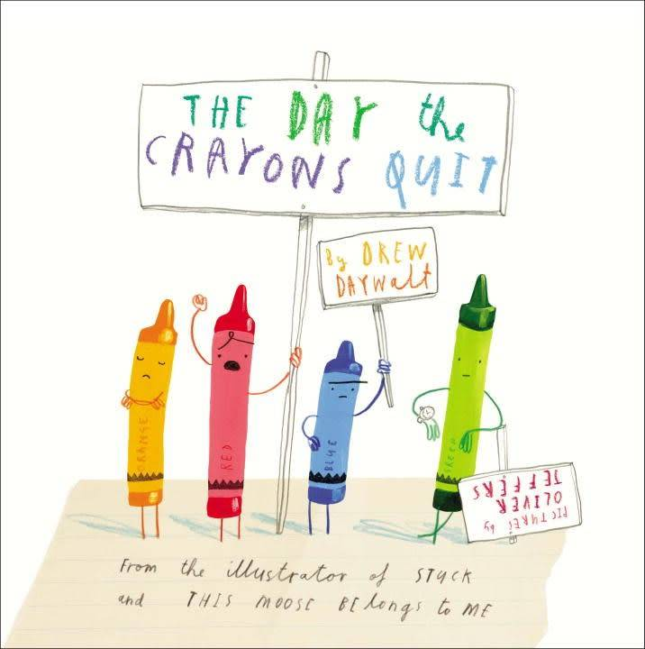 Philomel Books Crayons 01 The Day the Crayons Quit