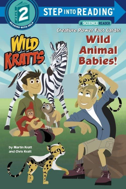 Wild Kratts: Wild Animal Babies (Step-into-Reading, Lvl 2)