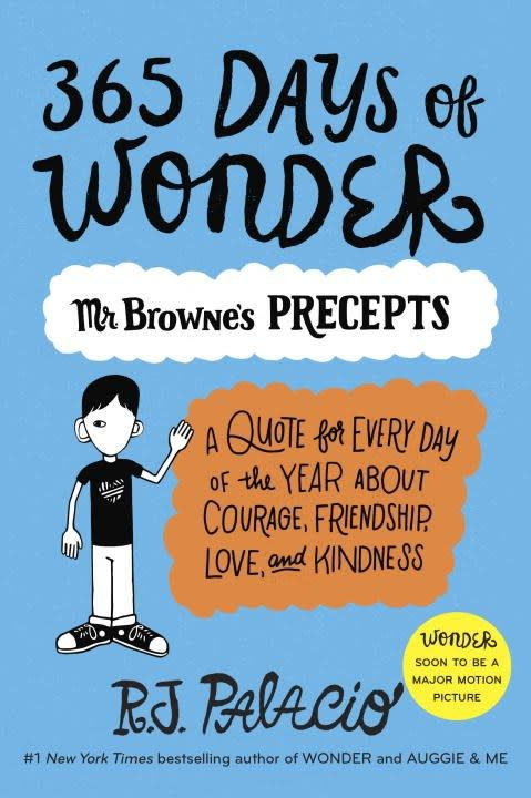 Knopf Books for Young Readers Wonder: 365 Days of Mr. Browne's Precepts