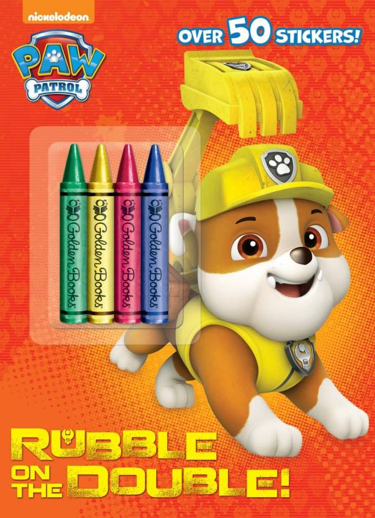Paw Patrol: Rubble on the Double (Coloring and Stickers)