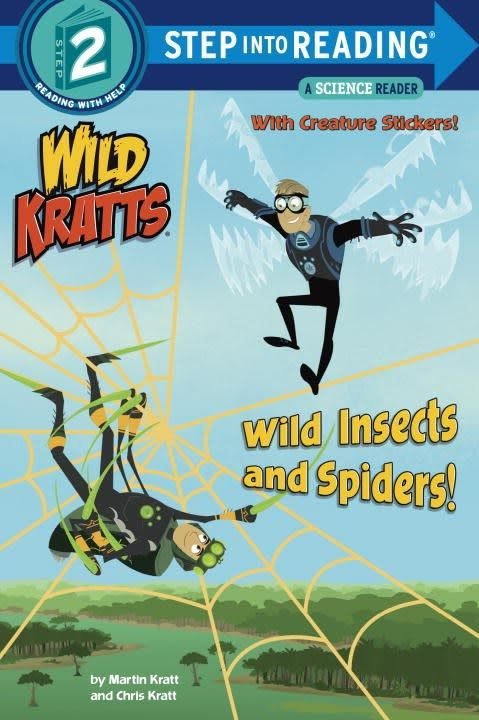 Random House Books for Young Readers Wild Kratts: Wild Insects and Spiders (Step-into-Reading, Lvl 2)