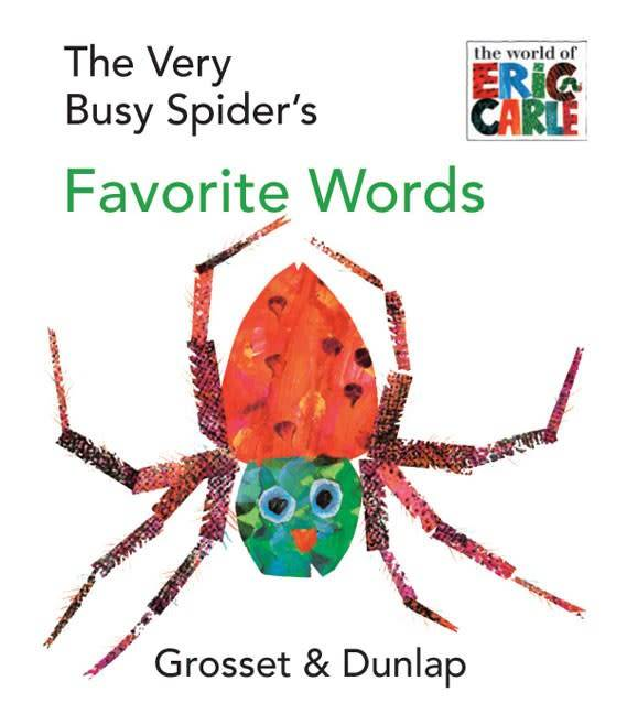 Grosset & Dunlap The Very Busy Spider's Favorite Words (Tiny Board Book)