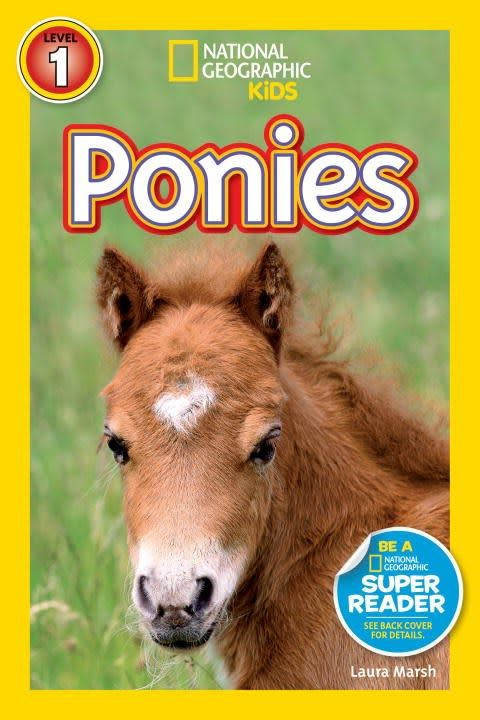 National Geographic Children's Books Ponies (Nat Geo Readers, Lvl 1)