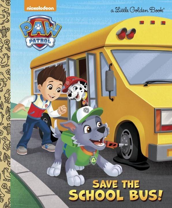 Golden Books Paw Patrol: Save the School Bus!