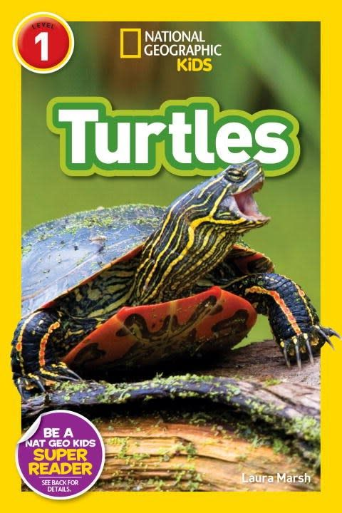 Turtles (National Geographic Readers, Lvl 1)