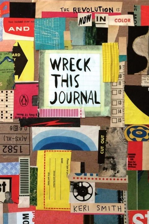 Penguin Books Wreck This Journal: Now in Color