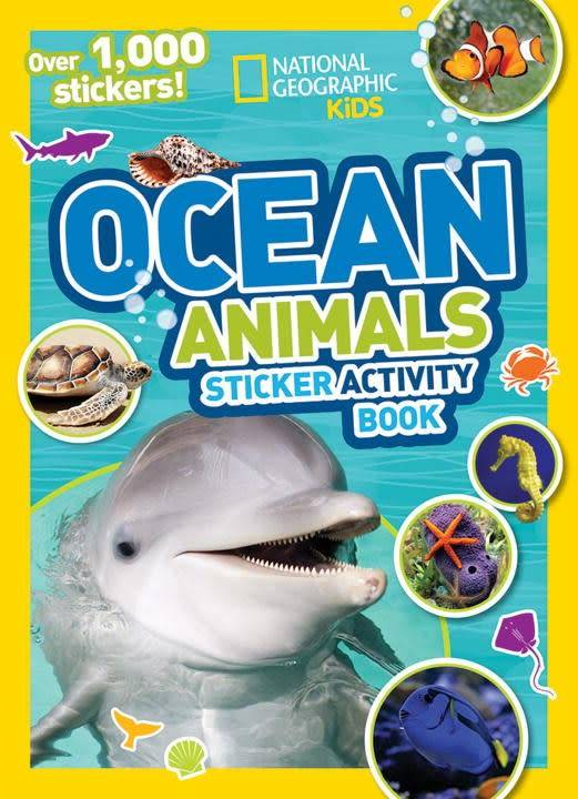 National Geographic Children's Books Nat Geo: Ocean Animals (Sticker Activity Book)