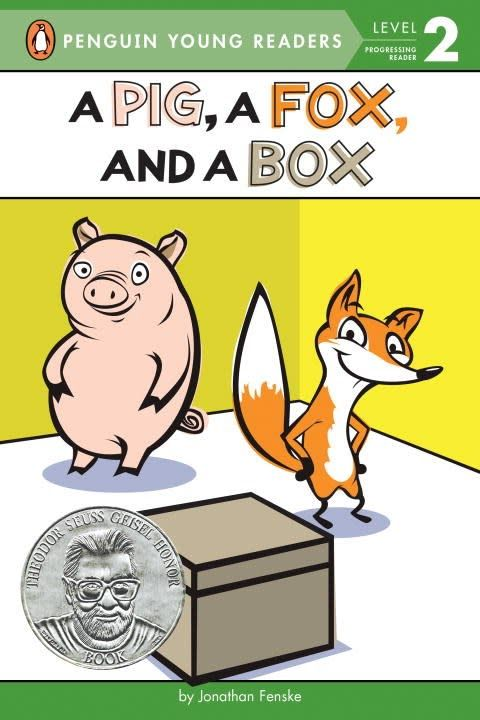 Penguin Young Readers A Pig, A Fox, and a Box (Penguin Readers, Lvl 2)