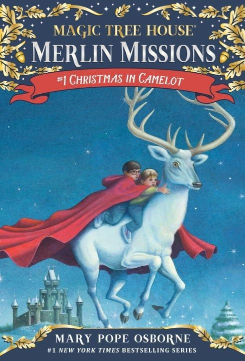 Random House Books for Young Readers Magic Tree House Merlin Missions 01 Christmas in Camelot