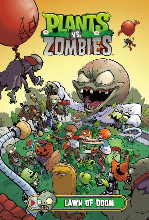 Dark Horse Books Plants vs. Zombies: Lawn of Doom