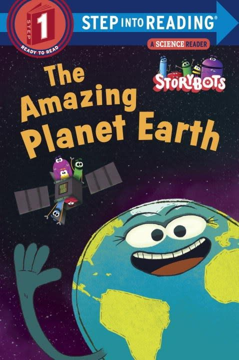 Random House Books for Young Readers Storybots: The Amazing Planet Earth (Step-Into-Reading, Lvl 1)