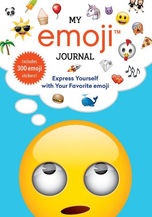 Running Press My Emoji Journal: Express Yourself with Your Favorite...