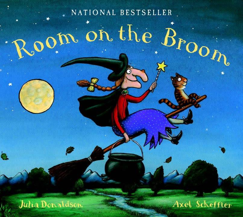Dial Books Room on the Broom Lap Board Book