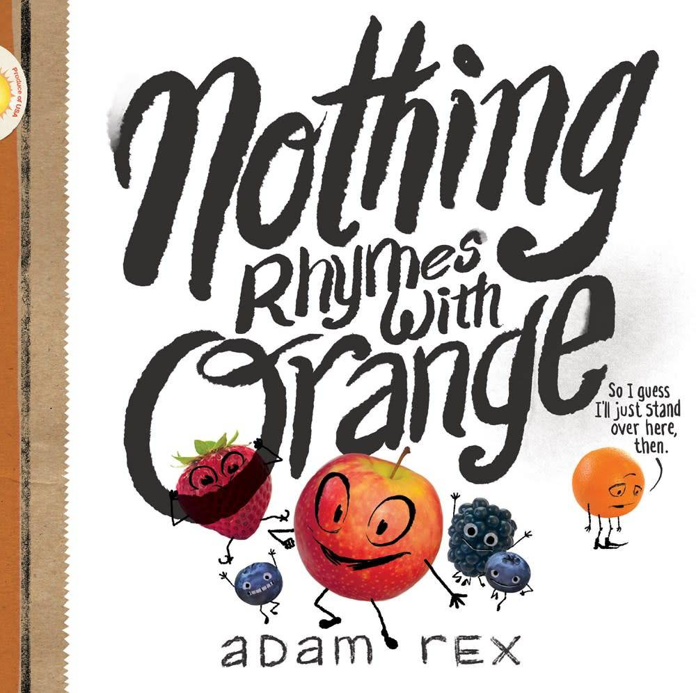 Chronicle Books Nothing Rhymes with Orange
