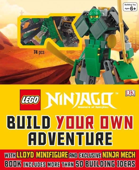 DK Children Lego Ninjago: Build Your Own Adventure
