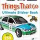 DK DK Ultimate Sticker Book: Things That Go