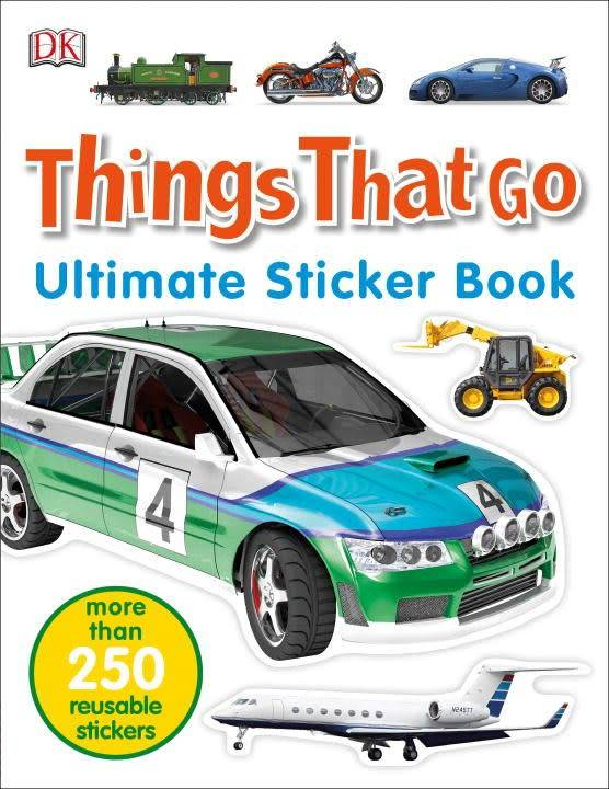 DK DK Ultimate Sticker Book: Things That Go