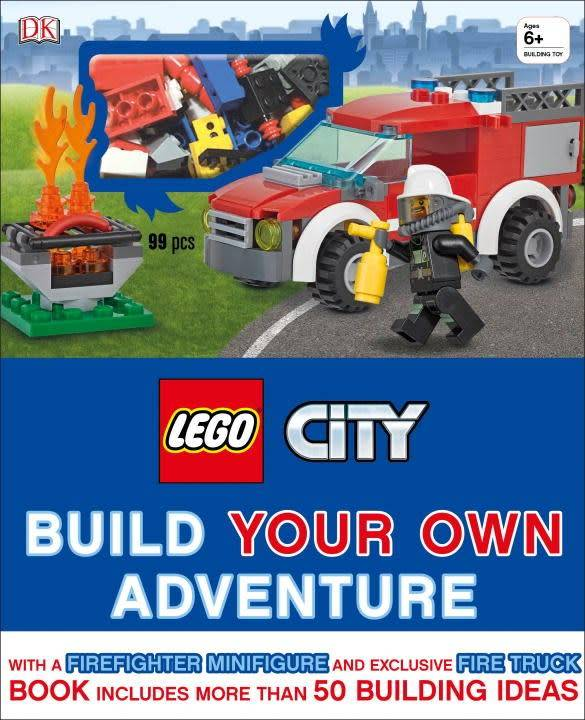 DK LEGO City: Build Your Own Adventure