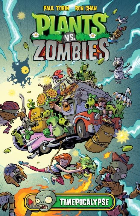 Dark Horse Books Plants vs. Zombies: Timepocalypse