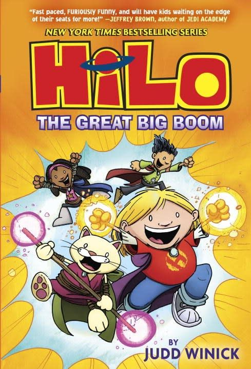 Random House Books for Young Readers Hilo 03 The Great Big Boom