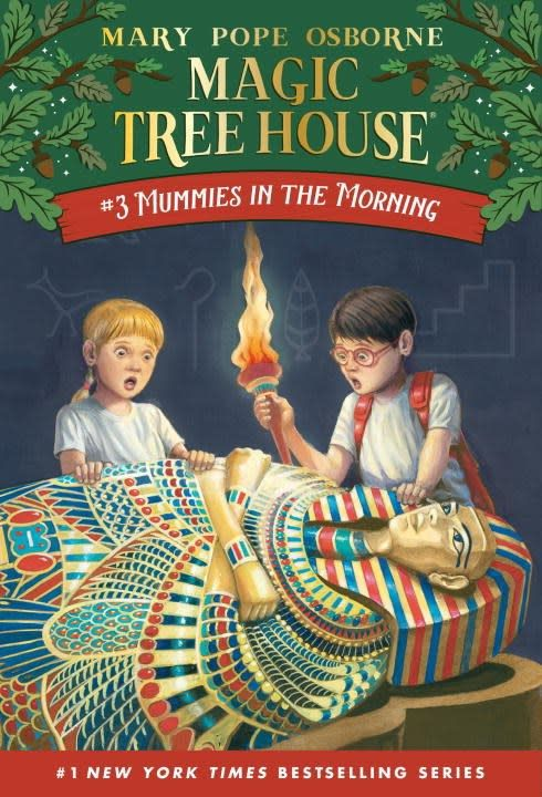 Random House Books for Young Readers Magic Tree House 03 Mummies in the Morning