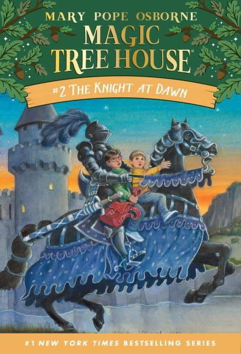 Random House Books for Young Readers Magic Tree House 02 The Knight at Dawn