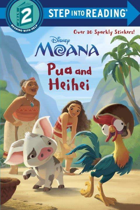 RH/Disney Disney Moana: Pua and Heihei (Step-into-Reading, Lvl 2)
