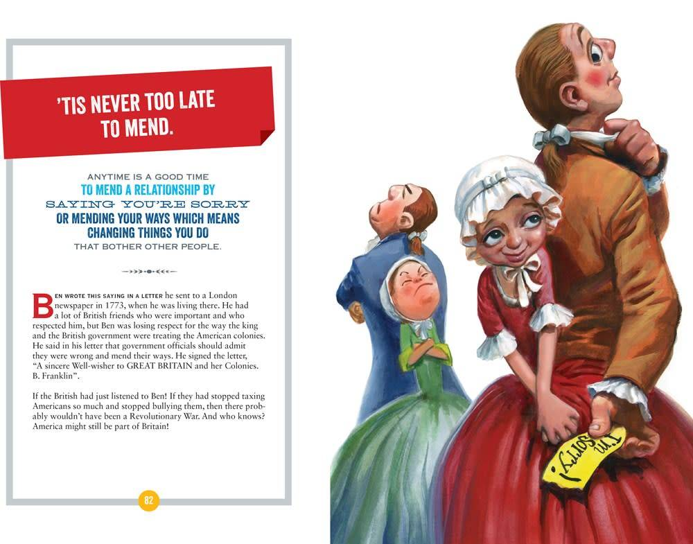 National Geographic Children's Books Benjamin Franklin's Wise Words: How to Work Smart...