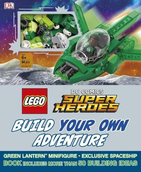 DK Children LEGO DC Comics Super Heroes: Build Your Own Adventure