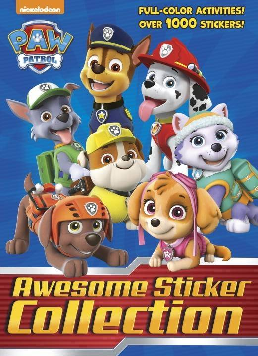 Golden Books PAW Patrol: Awesome Sticker Collection