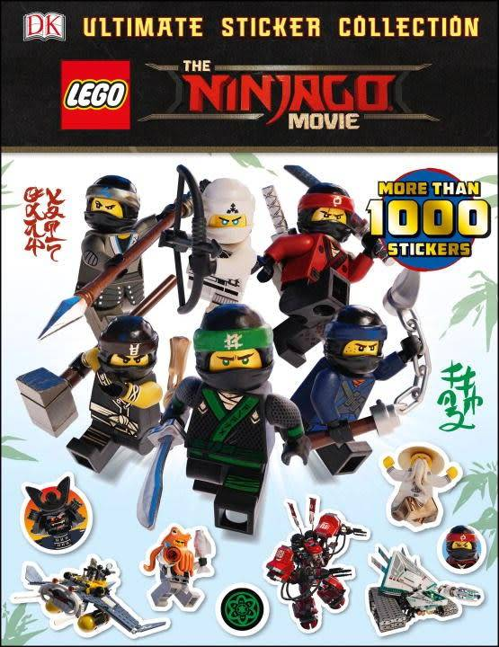 DK Children DK Ultimate Sticker Collection: LEGO Ninjago Movie