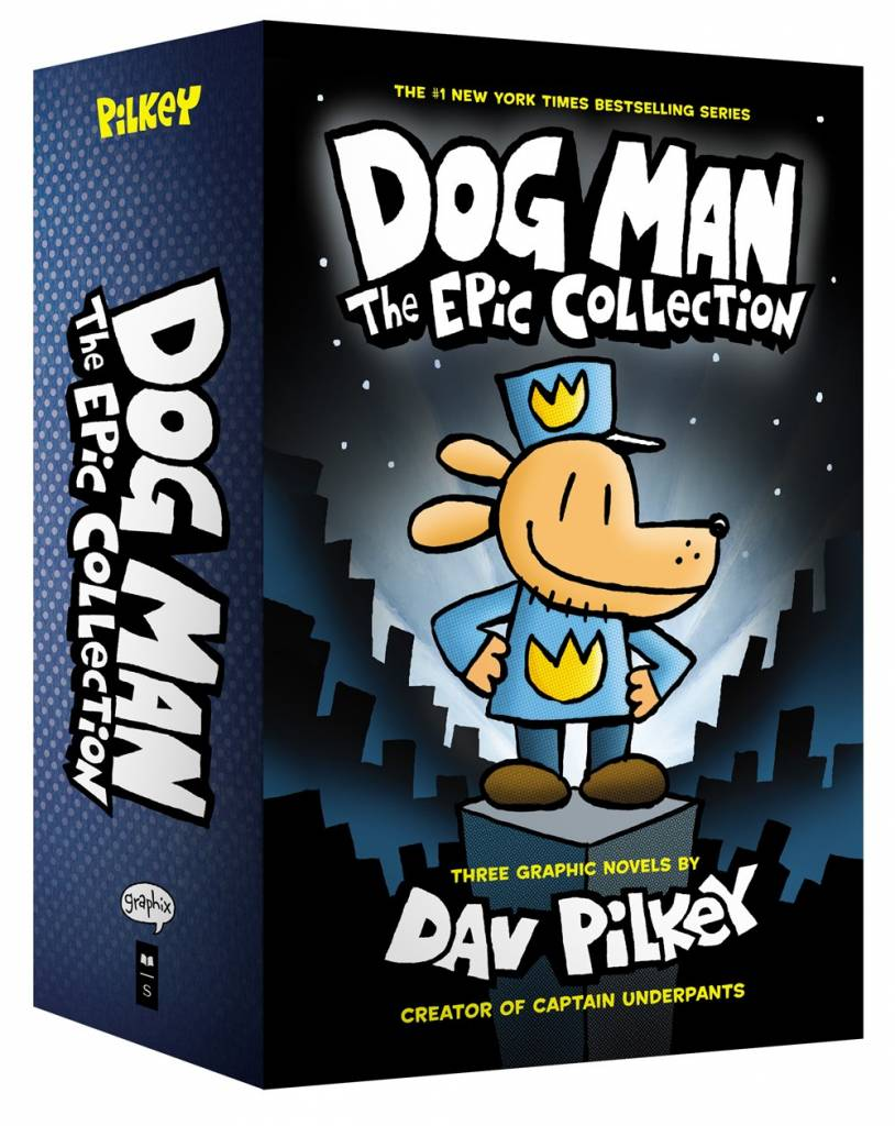 Graphix Dog Man: Epic Collection Boxed Set (#1-3)