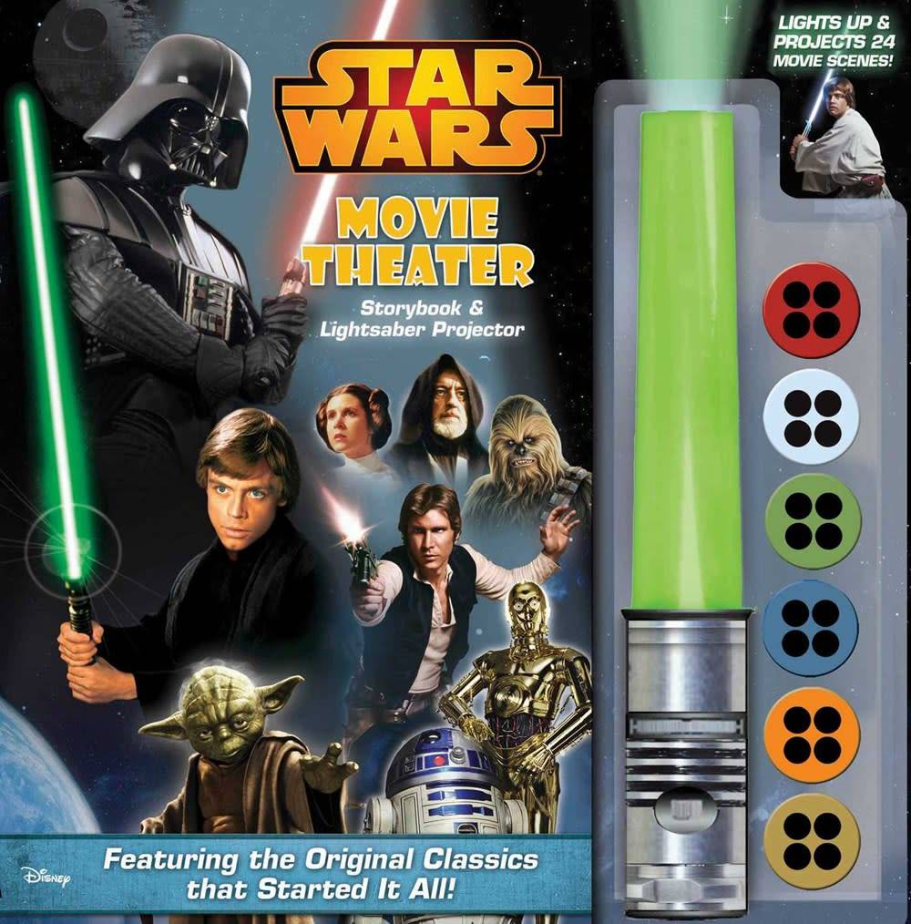 Star Wars (Storybook & Lightsaber Projector)