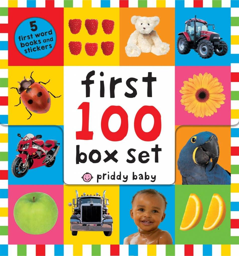 Priddy Books First 100 Priddy Baby Boxed Set (5 books)