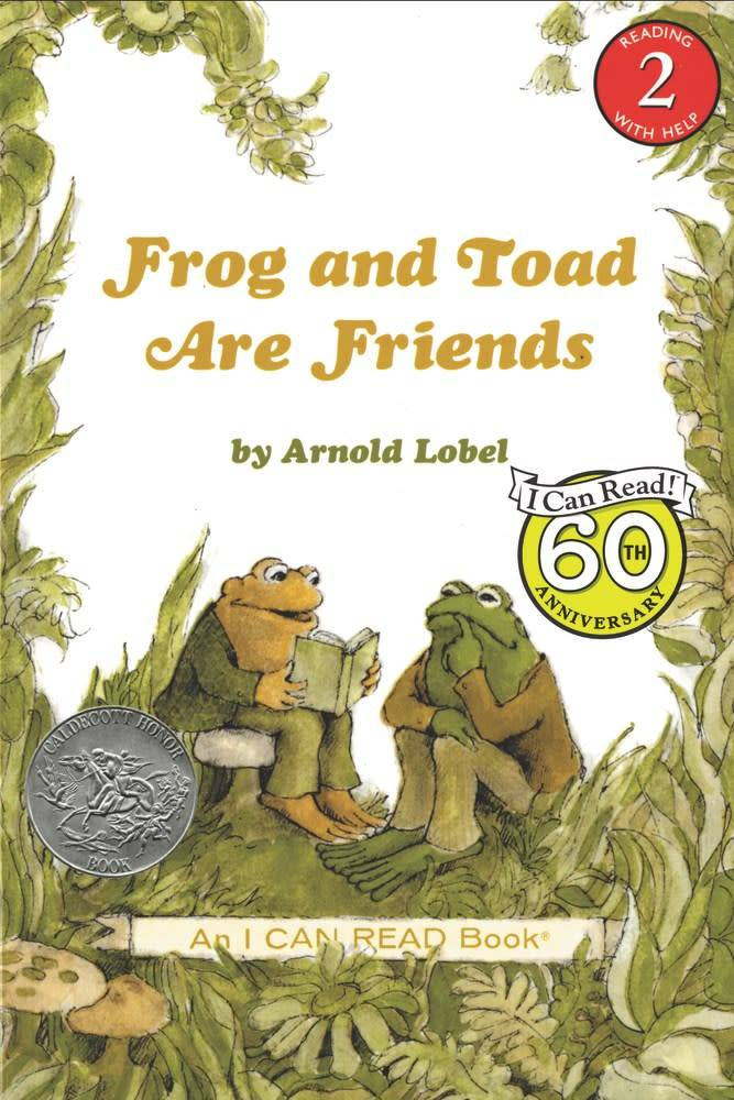 Harper Frog and Toad 01 Are Friends (I Can Read!, Lvl 2)