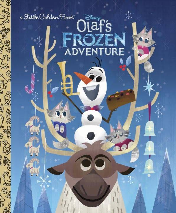 Golden Books Disney Frozen: Olaf's Frozen Adventure